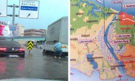 Kanal İstanbul Yerine Su Kanalları Yapılarak Sel Baskınları Önlensin