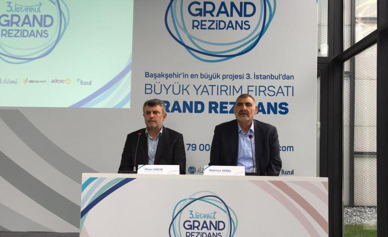 3. İstanbul'da üçüncü etap, Grand Rezidans satışa çıktı