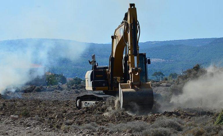 Ayvacıklı depremzedelerin konutlarının yapımına başlandı