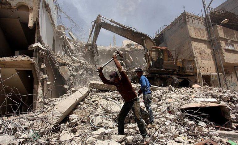 Gazze'nin yeniden imarına 37 milyon dolarlık destek