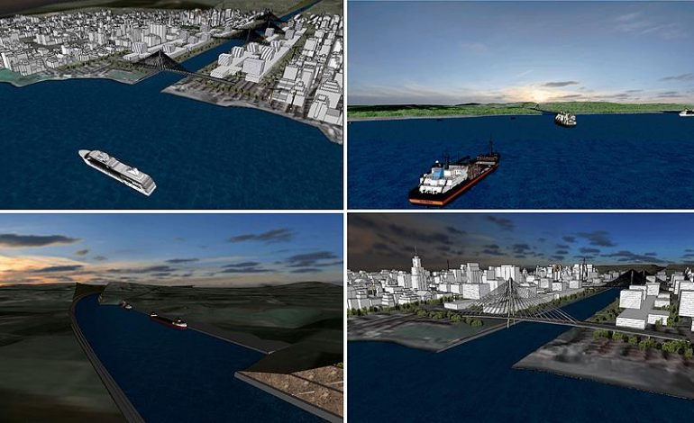 Kanal İstanbul'da Lokasyon Belli Oldu, ÇED Süreci Başladı