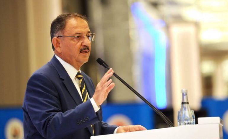 Mehmet Özhaseki, Manisa Kentsel Dönüşüm Çalıştayı'na Katıldı