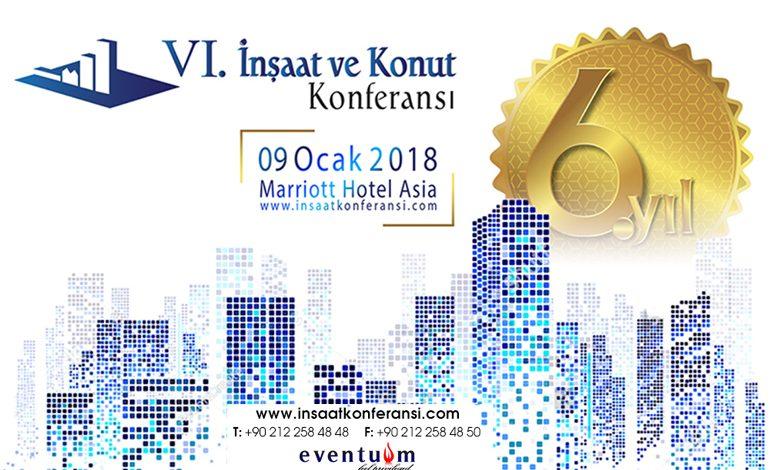 Türkiye'nin En Büyük İnşaat ve Konut Konferansı 6. Yılında Kapılarını Açıyor