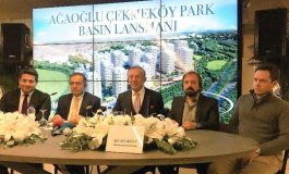 Ağaoğlu Çekmeköy Park Lansmanı Yapıldı