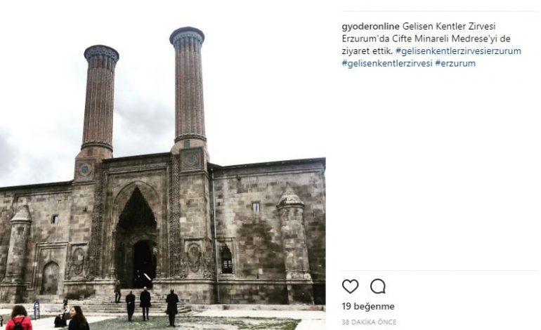 """GYODER """"Gelişen Kentler Zirvesi"""" Erzurum'da Başladı"""