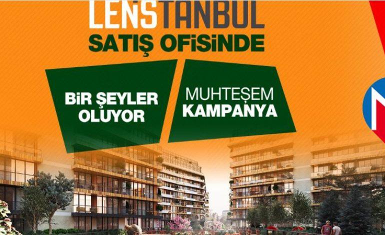 Lens İstanbul'da Vade Farksız 72 Ay Taksitli Kampanya