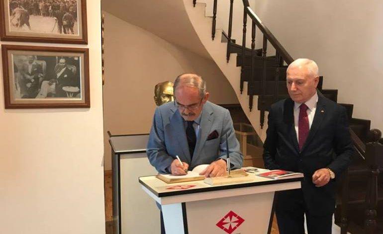 Prof. Dr. Mehmet Haberal, Atatürk'ün Evinin Benzerini Restore Ederek Müze Yaptı