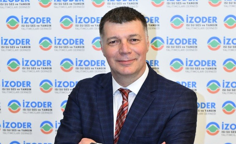 """İZODER: Türkiye'deki binaların tümünün daha az enerji harcayan  çevre dostu bir yapıya kavuşması gerekiyor"""""""