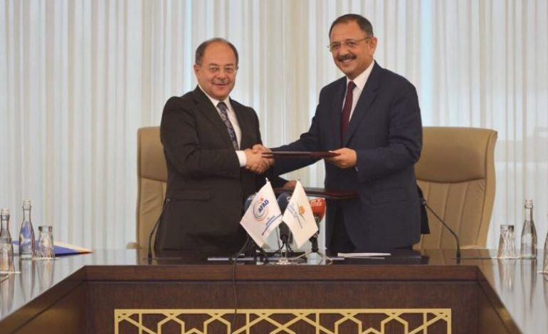 Afet konutları için protokol imzalandı