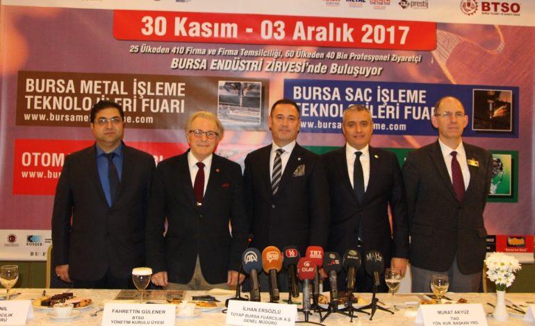 Bursa Endüstri Zirvesi Türkiye ekonomisine hayat veriyor