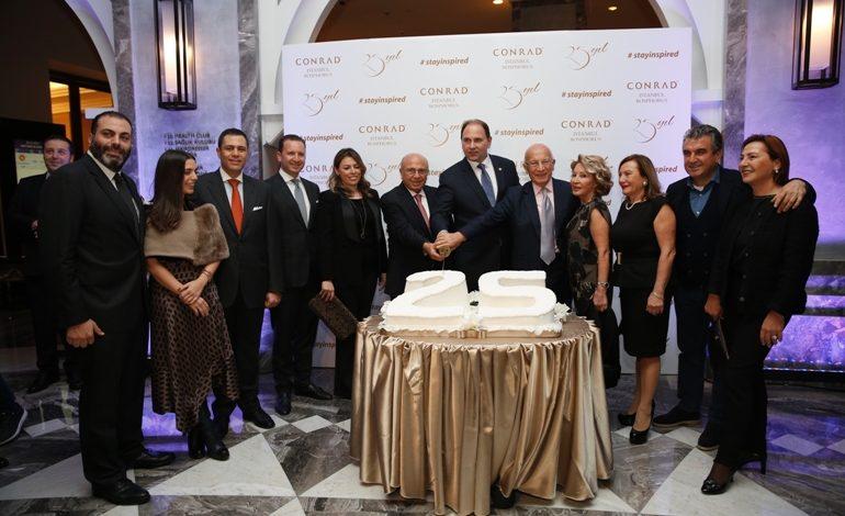 Conrad İstanbul Bosphorus 25. Yılını Coşkuyla Kutladı