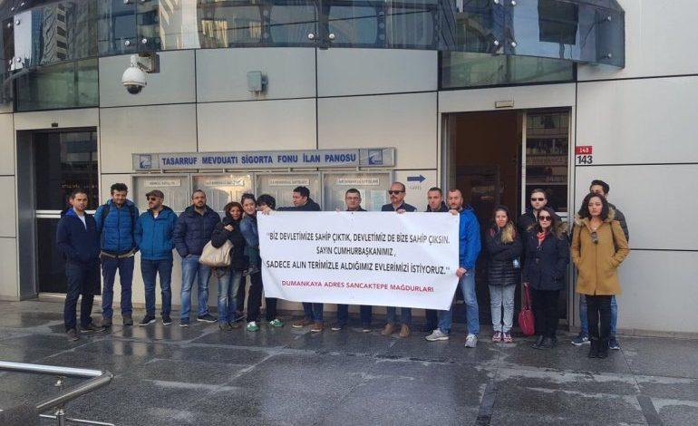 Dumankaya Mağdurları 11 Aralık'ta Basın Toplantısı Düzenleyecek