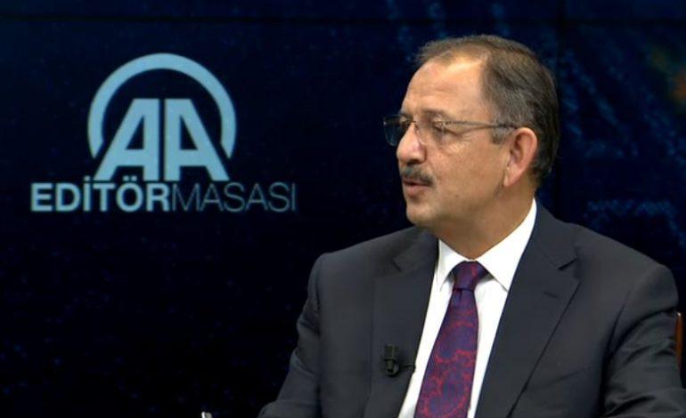 Mehmet Özhaseki AA Editör Masasına Konuk Oldu