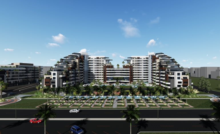 Antalya'da Yeşil ve Maviyi Buluşturan Sürdürülebilir Yaşam Kompleksi: Sunis Residence