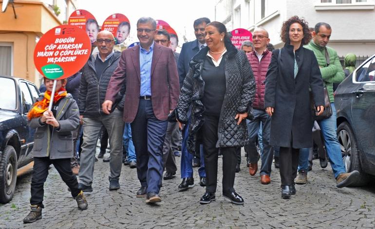 """""""Temiz Sokak Projesi""""  Üsküdar'da başladı"""