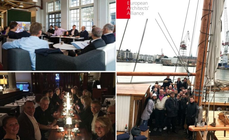 GMW MIMARLIK, Kurucu Üyesi Olduğu Avrupa Mimarlar Birliği'ne 17 Yıldır Aktif Olarak Katkıda Bulunuyor
