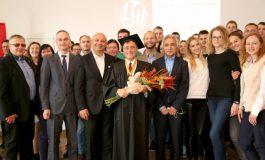 Kayı Holding Yönetim Kurulu Başkanı Coşkun Yılmaz'a Litvanya'dan Fahri Doktora Unvanı