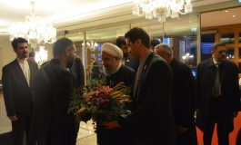 İran Cumhurbaşkanı Hasan Ruhani, konaklamak için  ikinci kez CVK Park Bosphorus Hotel İstanbul'u seçti