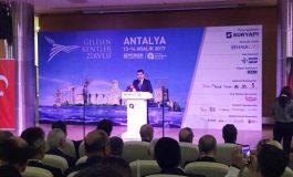 GYODER Gelişen Kentler Zirvesi Antalya'da Gerçekleşti