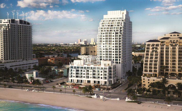 Heafey Group, Florida Fort Lauderdale'deki Conrad Oteli'nin açılışını yaptı