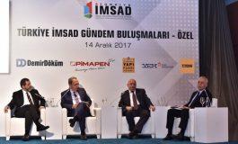 İMSAD Gündem Buluşmaları'nda Ekonomide Yaşanan Gelişmeler, Sorunlar ve İş Dünyasının Beklentileri Ele Alındı