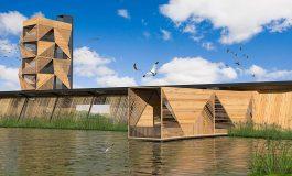 Türkiye'nin ilk engelsiz kuş gözlem kulesi yapılıyor