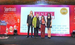 """İkinci Kez """"Süper Marka"""" Seçilen SİNPAŞ, Gurur Veren Ödülünü Aldı"""
