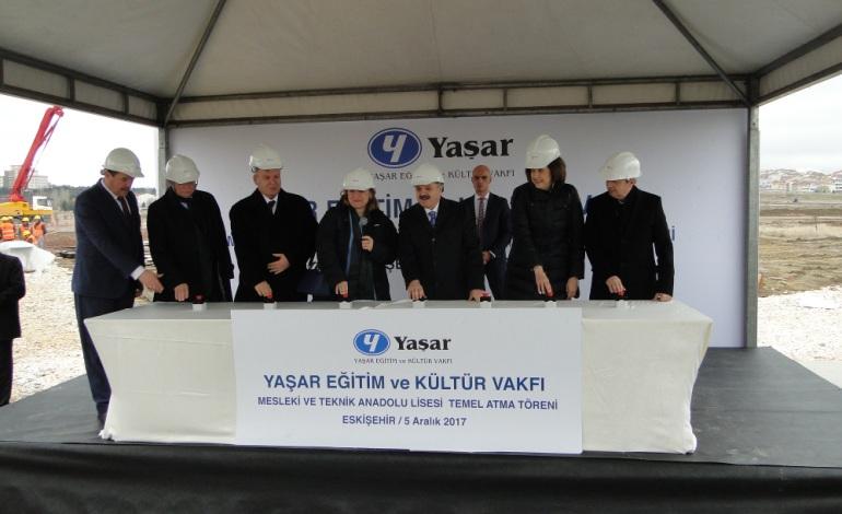 Yaşar Eğitim ve Kültür Vakfı 8'inci Okulun Temelini Attı