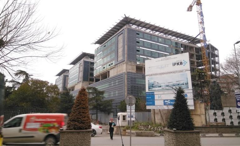 Göztepe Eğitim Araştırma Hastane İnşaatında sona doğru