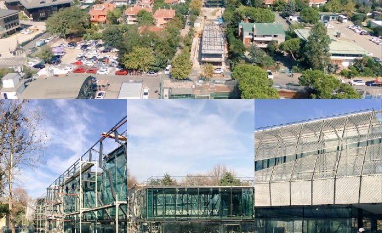 Online ödeme sistemleri girişimi İyzico'nun yeni merkezi için yapılan İyziPark için çalışmalar devam ediyor
