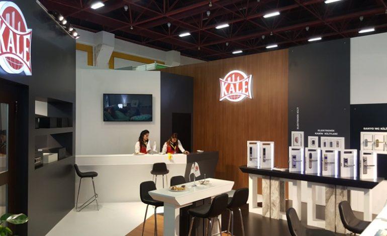 Kale Kilit Teknolojik Ürünlerini Anfaş Otel Ekipmanları Fuarı'nda Tanıttı