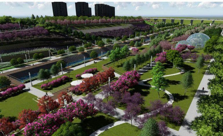 Kayaşehir'deki 1,5 milyon metrekarelik parkın ilk etap çalışması devam ediyor