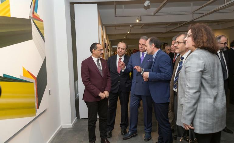 """İzmir yeni bir sanat mekânı kazandı: """"Kazım Türker Sanat Galerisi"""""""