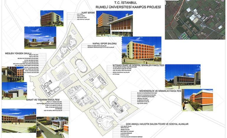 İstanbul Rumeli Üniversitesi Mimari İnşa Projesi Başlıyor