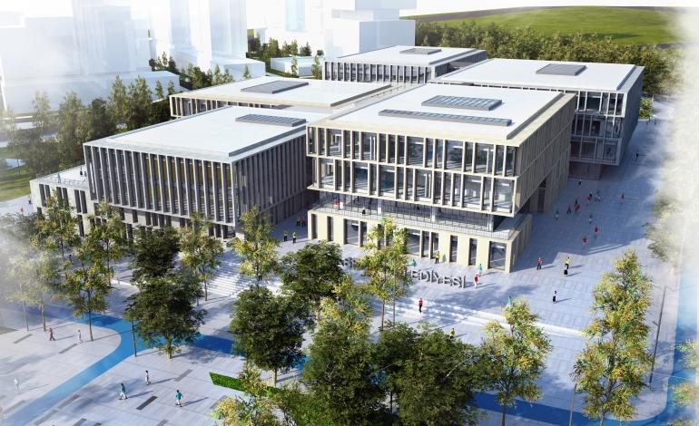 Başakşehir, Yeni Belediye Hizmet Binasına Taşınıyor