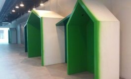 Sinpaş Flat Ofis'in Ortak Alan Mobilyaları Adisev Mobilya'dan