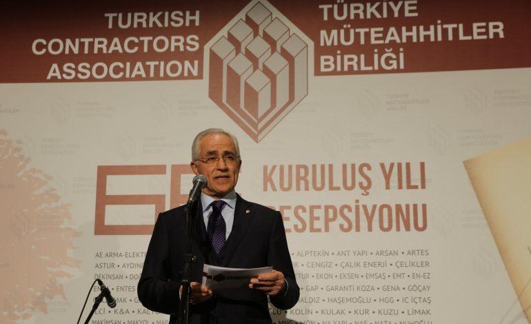 """""""Bugün Türk inşaat sektörünün dünyada ulaşmış olduğu konum hepimiz için gurur vericidir"""""""
