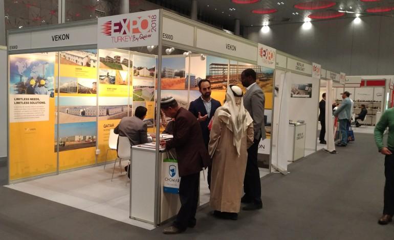 Vefa, 2.Expo Turkey by Qatar'da iş dünyasıyla buluştu