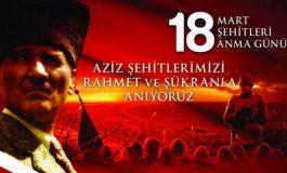 18 Mart Çanakkale Şehitleri Anma Günü ve Çanakkale Deniz Zaferi