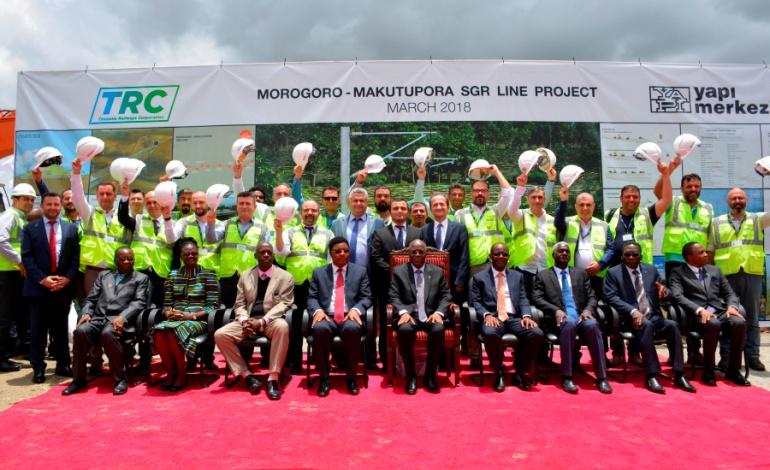 1.9 milyar dolarlık demiryolu projesinin temelini atıldı