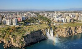 1. çeyrekte Antalya'da kira endeksi bir önceki çeyreğe göre 9,38 puan artış gösterdi