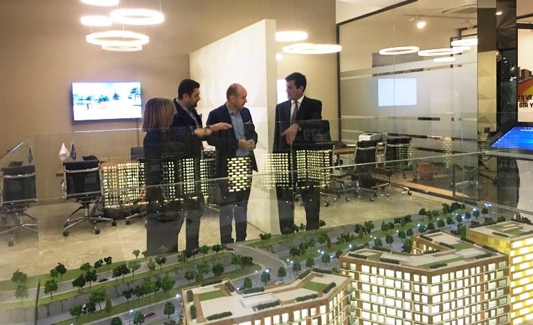 Porto Belediye Başkanı Moreira, İstanbul'da Babacan Projelerini gezdi