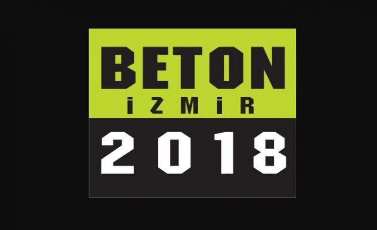 Beton İzmir 2018 Fuarı, 25-28 Nisan 2018'de