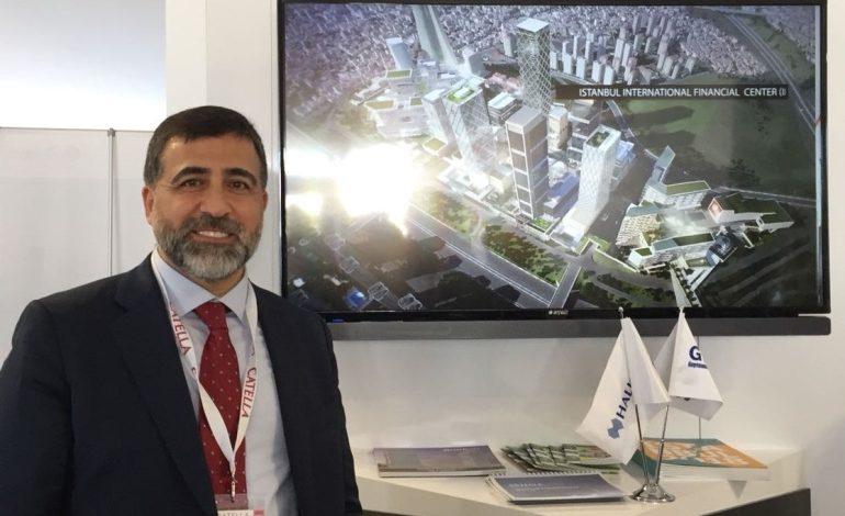 Halk GYO MIPIM'de İstanbul Uluslararası Finans Merkezi projesini tanıttı