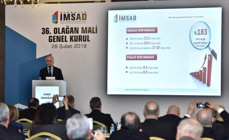 Türkiye İmsad'da Ferdi Erdoğan 2 Yıl Daha Başkan
