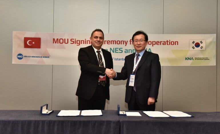 Türkiye ile Güney Kore Nükleer İş Birliği Anlaşması İmzaladı