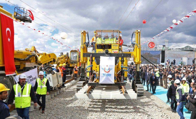 Yapı Merkezi Yüksek Hızlı Tren Hattı ile Yerköy – Sivas arasını 1 saate indirecek!