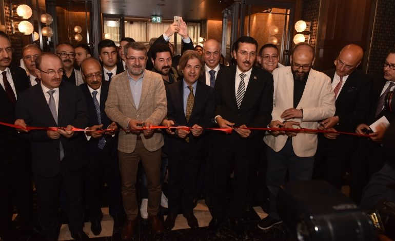 'The Galata İstanbul Hotel MGallery by Sofitel'in açılışını Bülent Tüfenkçi yaptı