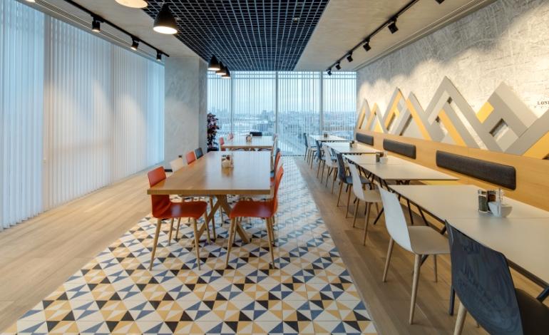 Gönye Proje'den Dinamik, Konforlu ve Prestijli Ofis Tasarımı: AKYAPI OFİS