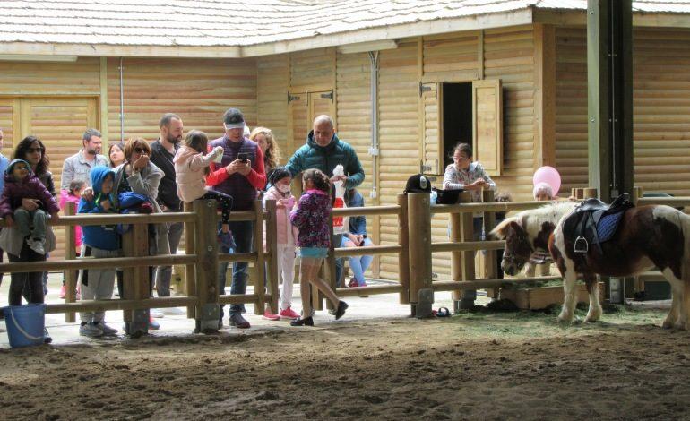 İncek Loft'ta 110 çocuk Pony atlarla 'Bahara Merhaba' dedi